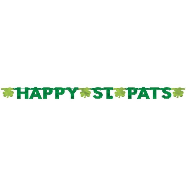 Happy St. Pats Letter Banner